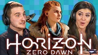 ROBOT APOCALYPSE!!! - HORIZON ZERO DAWN (Teens React: Gaming)