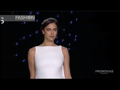 IRINA SHAYK opens the PRONOVIAS Bridal Show 2016 in Barcelona by Fashion Channel