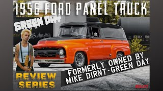 "1956 Ford ""Green Day"" Bassist MIKE DIRNT Panel Truck  [4k] 