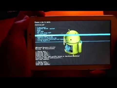 Samsung Galaxy Tab 3 TWRP recovery and ROOT. за 5 минут.