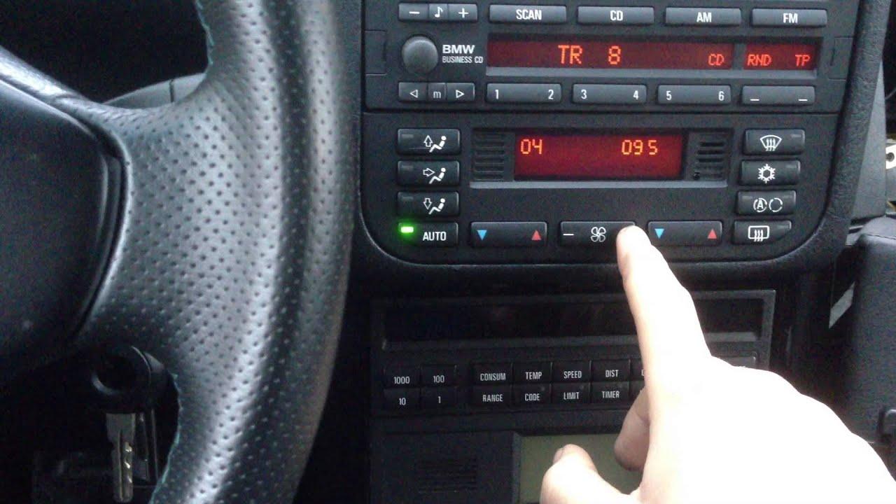 Bmw E36 Geheimmen 252 Klimaautomatik Auc Tabelle In Der