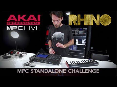 AKAI Standalone Challenge MPC LIVE feat RHINO (vidéo de La Boite Noire)