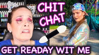CHIT-CHATTY GeT rEaDay WiTh mE + LOOK BOOK!! by SimplyFaceLogical by : Simply Nailogical