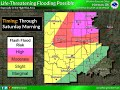 Memorial Day Weekend Flooding and Severe Storms - Recorded Friday Afternoon