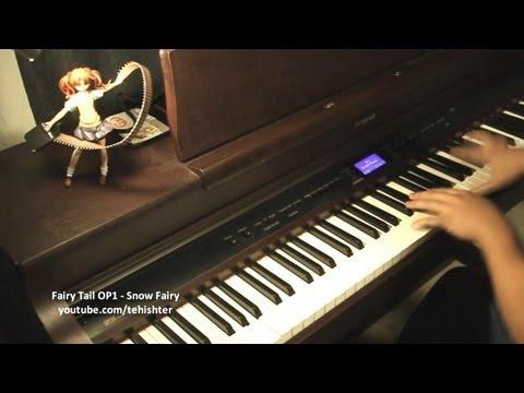 Fairy Tail OP1  Snow Fairy Piano