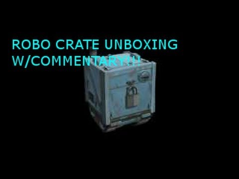 TF2 ROBO Crate Unboxing Video #1