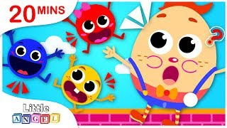 Counting Numbers with Humpty Dumpty, No No, Yum Yum Healthy Habits by Little Angel