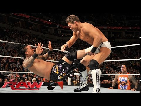 Jey Uso Vs. The Miz: Raw, December 22, 2014 video