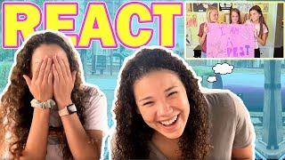 "Madison & Sierra REACT to ""Can't S-P-E-L-L"" Music Video!"