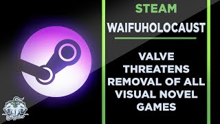 Valve Threatens Removal of Anime and Visual Novel Games