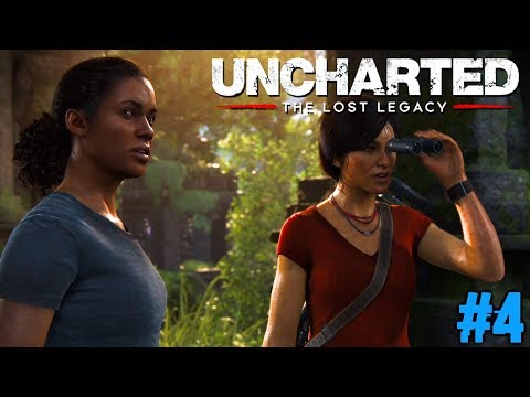 UNCHARTED THE LOST LEGACY : Lets Play #4 [FACECAM] - DIE SUCHE GEHT WEITER !!