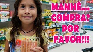 Tentando convencer a mamãe a comprar o melhor material escolar / Vale a pena ver de novo🎬