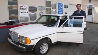 W123 Mercedes 240D 4 Spd Manual Overview: Kent's Landmark Benz - SOLD!