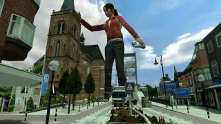 Giantess in Smalltown