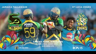 Game 16 highlights - Tallawahs vs Zouks | #CPL15