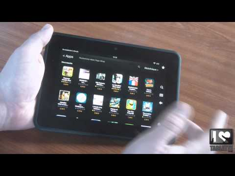 Test tablette Amazon Kindle Fire HD - focus sur l