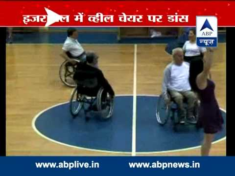 Israel group performs dance of wheelchair