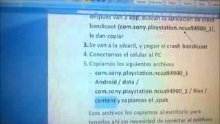 Tutorial para convertir juegos psone a la pocketstation (Xperia play) PARTE 1