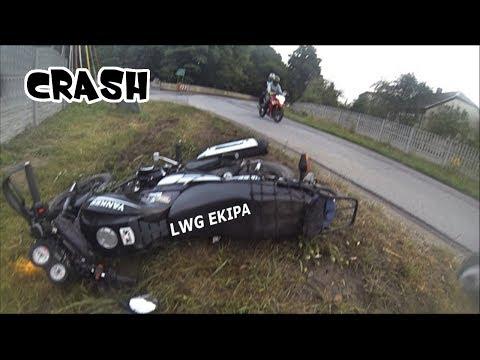 MOTORCYCLE CRASH | MIAŁEM WYPADEK! /BENZER YANKEE
