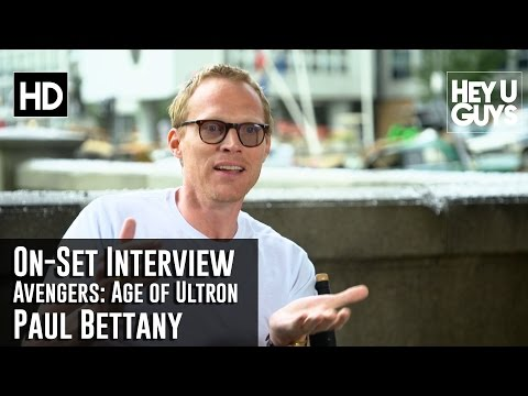 Paul Bettany - Avengers: Age of Ultron On-Set Interview