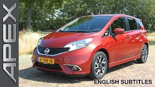 NISSAN NOTE 1.2 DIG-S CVT - Review - English Subtitles