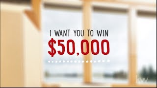 Win $50,000 - Here's how you can do it!