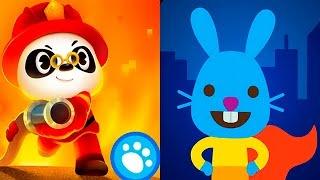 Мультики про героев и космонавтов Доктора Панду и Саго Мини. Dr Panda and Sago Mini for kids