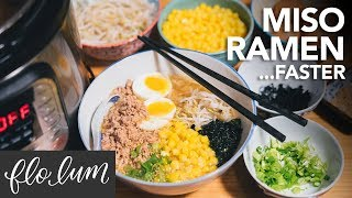 MISO RAMEN Way Faster in the Instant Pot