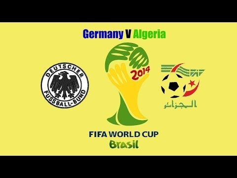 Brazil World Cup 2014-Germany V Algeria after game analysis
