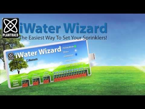 iWater Wizard iPhone irrigation controller and App - Setup Instructions