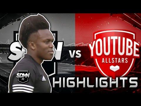 KSI(JJ) vs YouTube All Stars(Highlights) II Charity Match II Player Highlights