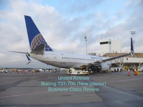 United Airlines 737-700 Business Class Review (Houston to Mexico City)