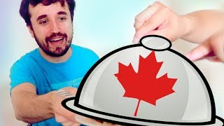 A COMIDA MAIS FAMOSA DO CANADA - Ep. 1229 (Free Food)