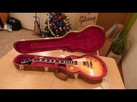 Gibson Les Paul Traditional 2016 Light Burst (распаковка/unboxing)