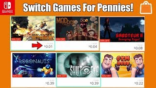 Nintendo Switch Games On Sale For Pennies RIGHT NOW On The eShop!