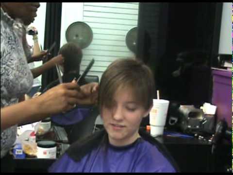 Interactiveish hair cut!!! Melissa's
