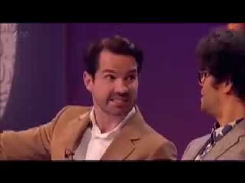 Richard Ayoade finally says it!
