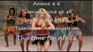 download lagu Shakira - Waka Waka + Lyrics gratis