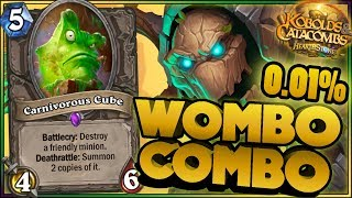 Hearthstone - Kobolds and Catacombs 0,01% WTF Moments - Funny Rng Moments