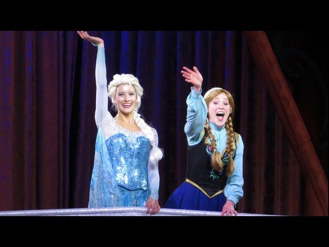 MouseSteps Weekly #116 Disney Frozen on Ice; Four Seasons Breakfast; Falcon's Fury; Bobby Burgess