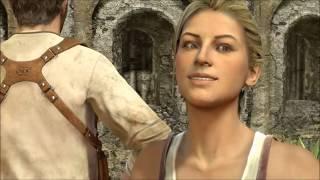 Nate & Elena Cutscenes (Uncharted 1-4)