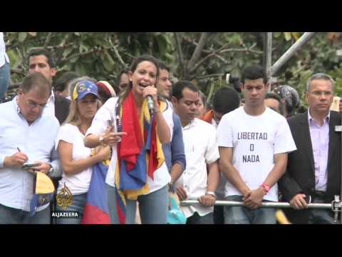 Violent protests in Venezuela continue