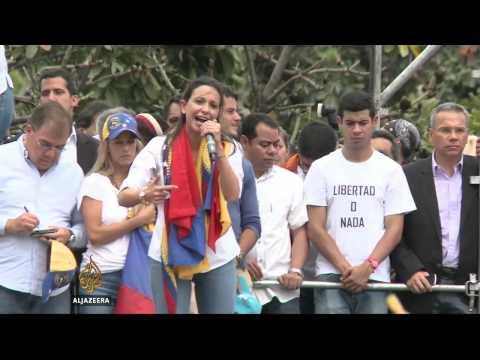 Violent protests in Venezuela continue