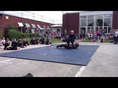Kuk Sool Won demo at St Gabriel's 7 July 2012 Part 2 Image 1