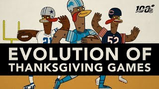 The ENTIRE History of NFL Thanksgiving!