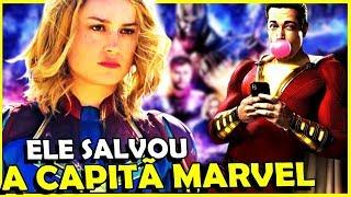 SHAZAM SALVA CAPITÃ MARVEL DA IRA DOS FÃS!
