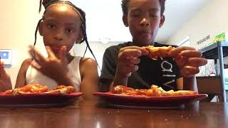 Blazing hot wings challenge