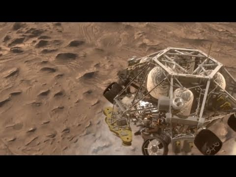 mars curiosity rover landing animation - photo #40