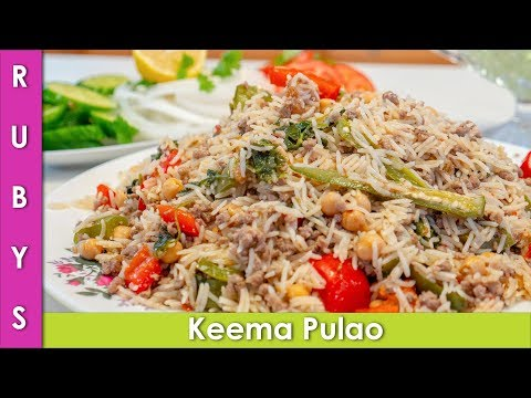 Mutton Keema Chana Yakhni Pulao Recipe in Urdu Hindi  - RKK