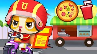 Super Delivery Man | Colors Song, Ice Cream, Food Song | Kids Songs | Kids Cartoon | BabyBus